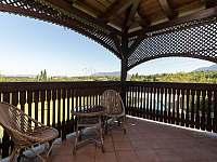 balkón - Trojanovice