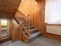 schodiště se vstupem na balkón - Trojanovice