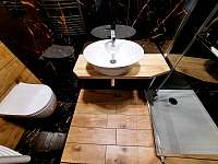 Koupelna v pokoji č. 1 - Tichá na Moravě