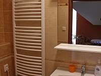 Koupelna v pokoji č. 3 - rekreační dům k pronajmutí Tichá na Moravě