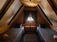 Ložnice v podkroví č. 3 dvě single postele - Horní Bečva