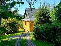 přijezdová cesta k chatě - k pronájmu Horní Bečva