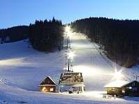 Ski Areál RALIŠKA 300m od Chaty - Horní Bečva