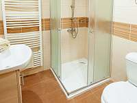 WC s umyvadlem a sprchovy kout - chata k pronájmu Horní Bečva