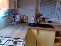 Kuchyně - pronájem chalupy Horní Bečva