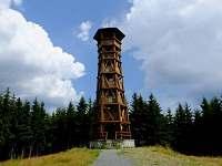 Rozhledna Miloňová ve Velkých Karlovicích- krásný výhled na Beskydy a Javorníky - chalupa k pronajmutí
