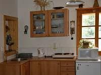 vybavená kuchyň-remoska, mikrovl.trouba,presso DolceGusto,varná konvice, vařič,