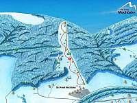 ski areál Machůzky Velké Karlovice -