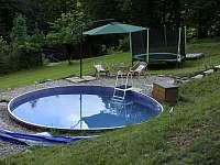 Bazén a trampolína - Morávka