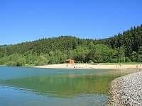 přírodní koupání - štěrkoviště Balaton - Velké Karlovice