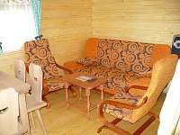 rozkládací sedačka - srub ubytování Zašová