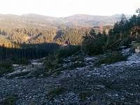 Veřovické vrchy a Radhošť z Ostrého