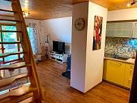 Obývací pokoj - pronájem chaty Nový Hrozenkov