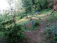 Zahrada - chalupa ubytování Bystřička