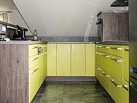 kuchyň - apartmán k pronajmutí Nový Hrozenkov