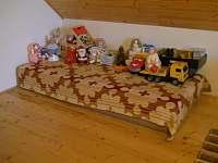 hrací koutek pro děti - chalupa k pronajmutí Valašská Bystřice