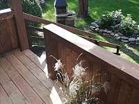 zahradní krb u terasy - Ostravice