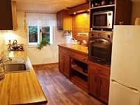 Kuchyň - chata ubytování Ostravice