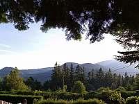 Výhled ze zahrady - Ostravice