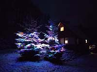 Vánoční Krmelec - chata ubytování Smilovice