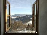 Pohled z okna na Radhošť
