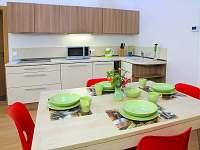 kuchyňský kout - apartmán ubytování Velké Karlovice