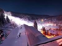 pohled na sjezdovku (skiareál Razula) - Velké Karlovice