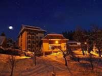 vstup (zima) - apartmán k pronájmu Velké Karlovice