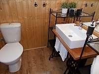 Koupelna - chata ubytování Trojanovice část pod Javorníkem