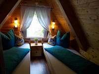 Malá ložnice - chata k pronajmutí Trojanovice část pod Javorníkem