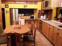 kuchyň - chata k pronajmutí Horní Lideč