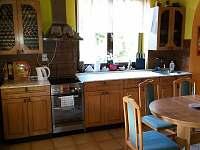 kuchyň - pronájem chaty Horní Lideč