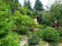zahrada - chata k pronájmu Horní Lideč