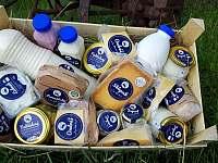 naše mléčné výrobky - Kunčice pod Ondřejníkem