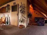 Kuchyň a obývací pokoj - apartmán k pronájmu Horní Bečva