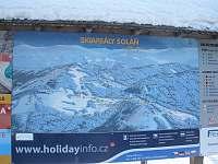 mapa lyžařských terénů v okolí - Karolinka
