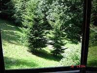 pohled z okna - Karolinka