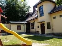 Dvorek - chalupa ubytování Rusava