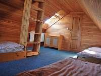 podkrovní pokoj s balkónem, 4 lůžka