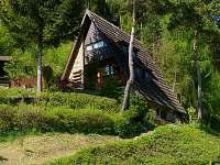 květnové panorama - chata ubytování Huslenky