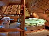 odpočívací prostor chaty - k pronajmutí Huslenky