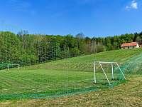 Fotbalové hřiště - chalupa ubytování Prostřední Bečva