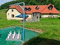 Můžete si zahrát Ruské kuželky - Prostřední Bečva