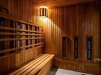 Kombinovaná sauna - pronájem chalupy Čeladná