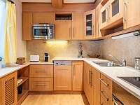 kuchyně - pronájem chalupy Čeladná