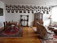 Lovecký Apartmán - posezení - ubytování Frenštát pod Radhoštěm