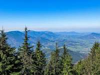 Krásné rozhledy na hory, Rožnov pod Radhoštěm