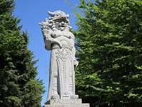 Tip na výlet: Pustevny - socha Radegasta