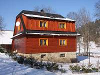 Chalupa U Pavelků - zima - ubytování Karolinka - Stanovnice