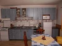 Kuchyň - chalupa ubytování Karolinka - Stanovnice